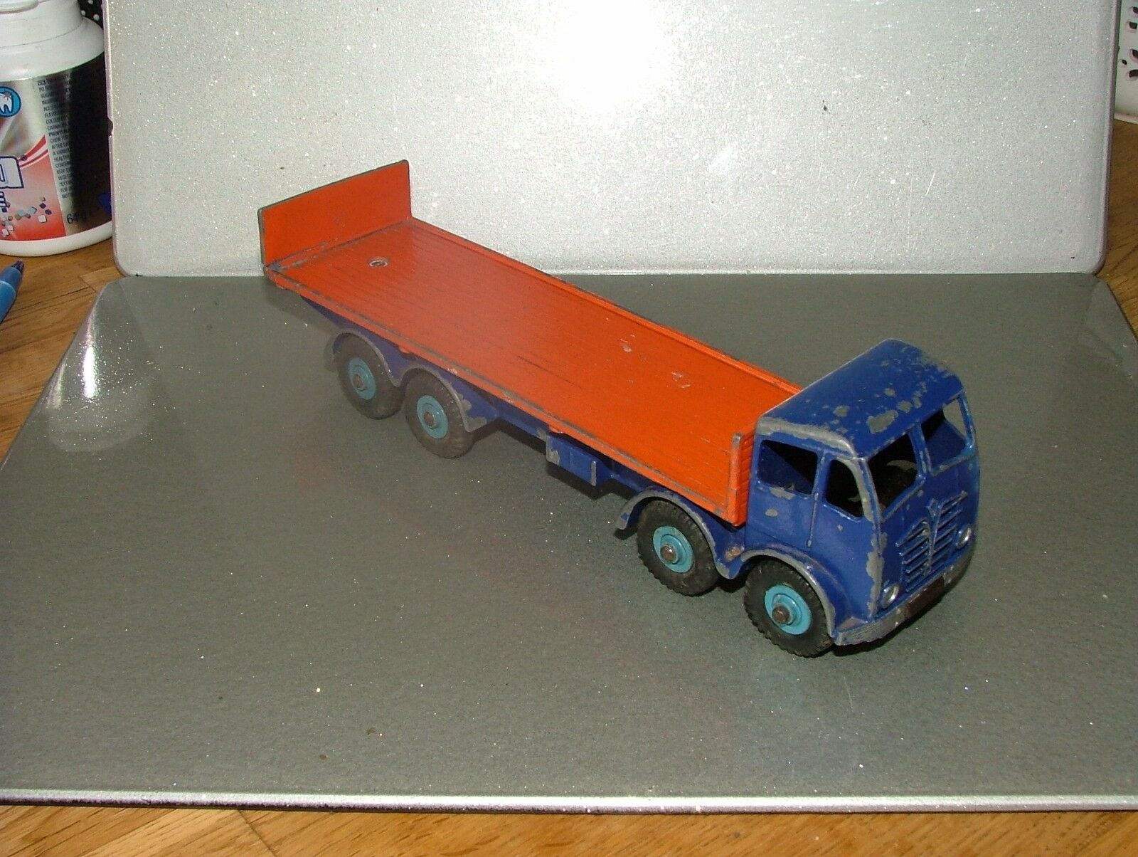 DINKY 903  FODEN FLAT TRUCK with TAILGATE TYPE TWO no Modelll no stamp
