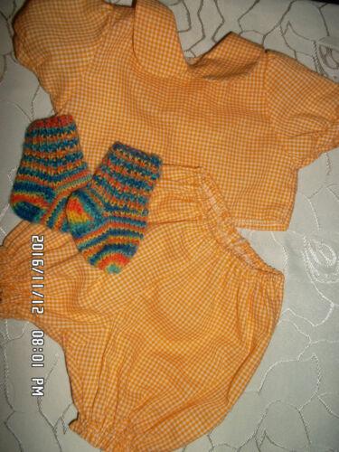 anschauen!!! zuckersüßes Babypuppen Outfit Kleidung & Accessoires