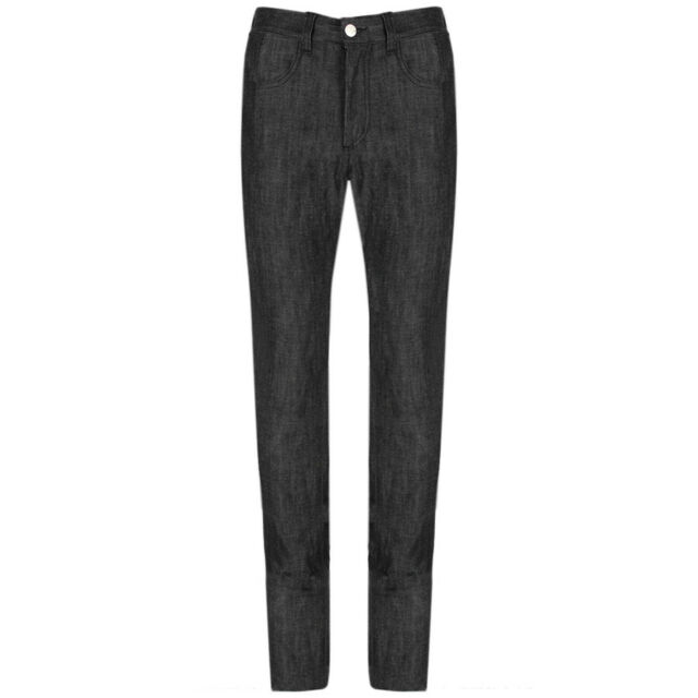 Raf Simons Dark Grey Ultra Skinny Fitting Jeans W32