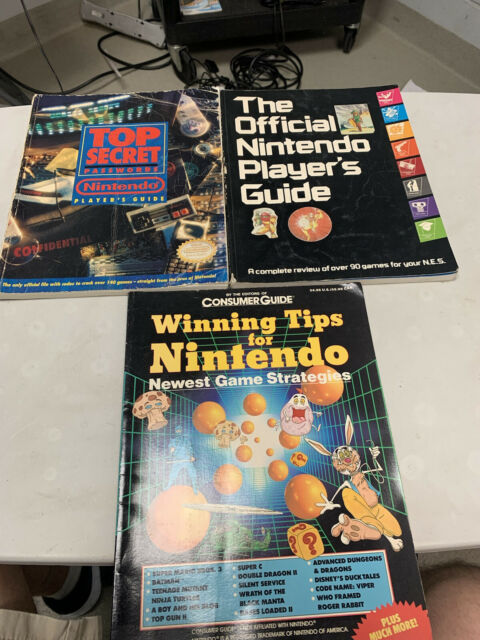 The Official Nintendo Player's Guide 1987, top secret passwords, & winning tips
