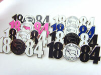 Derby County 1884 crest pin badge - football badge
