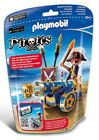 PLAYMOBIL Pirates Blue Interactive Cannon With Pirate 6164
