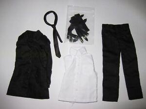 1-6-Scale-DOLLSFIGURE-Man-Black-Suit-set-for-12-034-Action-Figure-Toys