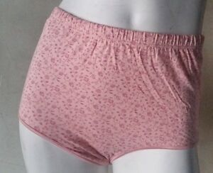 6b056c81f5e Image is loading Women-Plus-Size-Cotton-Panties-Full-Coverage-Briefs-