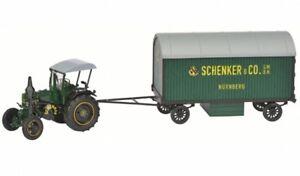 Lanz-Ackerluft-con-remolque-Schenker-Nurnberg-lanz-tractor-con-Remolque