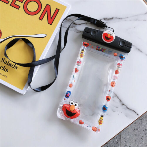 Waterproof Bag Cute Cartoon Strap Dry Pouch bag For Mobile Phone iPhone Samsung