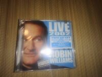 Robin Williams - Live 2002 2 Cd Set Sealed Rare