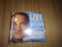 Robin Williams - Live 2002 2 Cd Set Sealed Rare
