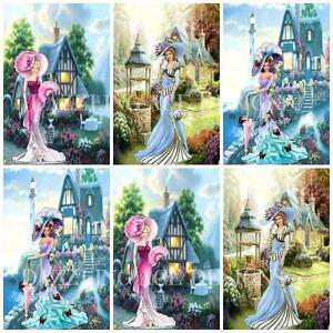 12-LADIES-AND-GARDENS-Embellishments-Card-Making-Toppers-Card-Toppers