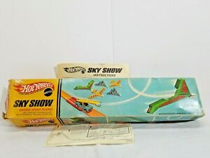 RARE-HOT-WHEELS-SKY-SHOW-ORIGINAL-BOX-AND-DIRECTIONS