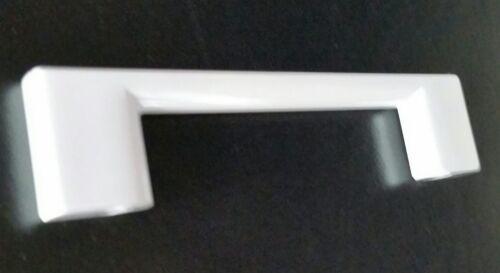 10x kitchen cupboard cabinet drawer door handles white gloss 96mm