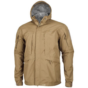 530eced6d Pentagon Monsoon Soft Shell Tactical Mens Rain Jacket Hiking Fishing ...