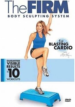 Step Aerobics and Toning Workout EXERCISE DVD - THE FIRM Fat Blasting Cardio!