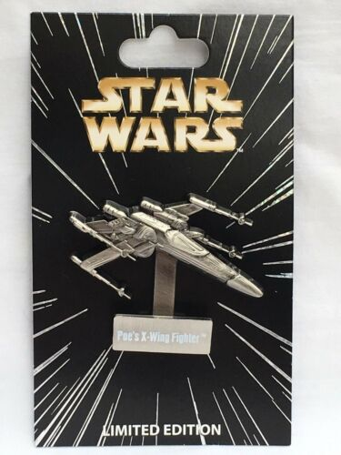 Poe/'s X-Wing Fighter LE 4000 Disney Parks Star Wars Pin of the Month Vehicles