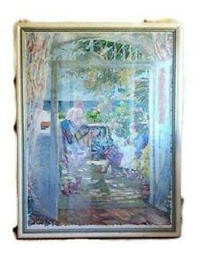 Sotiris-Corzo-Impressionist-Serigraph-Art-Print-034-Province-D-039-Medit-034-Signed-w-COA