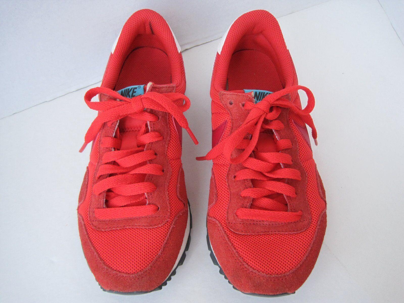 599124-600 Men's Sz 8  Nike Air Pegasus '13 Running Shoe Red/Orange w/Blue/Grn Comfortable and good-looking