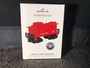 Hallmark-2019-Lionel-1007-Caboose-Car-Keepsake-Ornament-Metal-Train