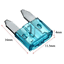 60tlg-Sortiment-Mini-KFZ-Sicherungen-5-30A-Autosicherungen-Flachsicherung-11mm Indexbild 2