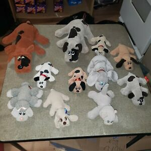 Vintage-1985-Tonka-Pound-Puppies-Lot-Collectibles-Dogs-Stuffed-Animals
