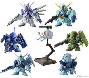 Bandai Sd Mobile Suit Gundam Next 15 Gashapon 7 Figure Hi Nu nuevo Geara Doga