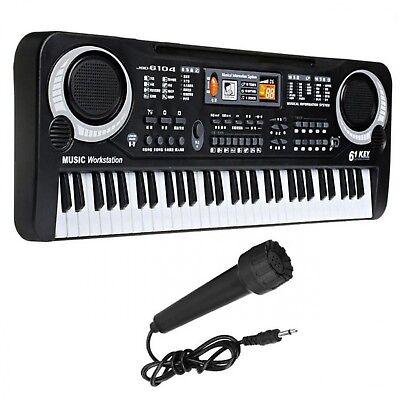 Piano Electronic Keyboard Digital Music Instrument 61 Keys Portable Stage  Used 696507358876   eBay