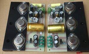 SC HOOD JLH 1969 10W+10W Class A amplifier kit