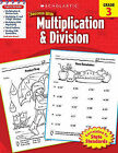 Scholastic Success with Multiplication & Division, Grade 3 by Terry Winterman, Libby Beck (Paperback / softback)