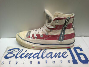 145 Ct Converse 141272c Hi Scarpa Zip donna Canvas As Uomo Sheraling Side rwrgaTnqOE