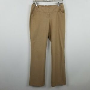 The-Limited-Collection-Cassidy-Fit-Brown-Womens-Trouser-Career-Dress-Pants-Sz-4R