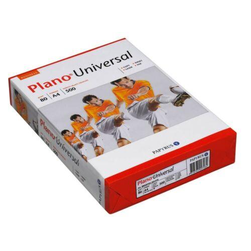 500 Blatt Plano Kopierpapier Universal A4 80 g//qm  Kopier Papiere Druckerpapier