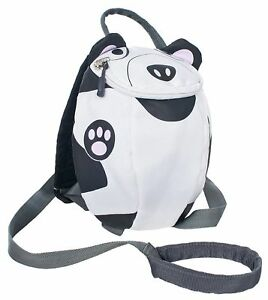 Trespass Paw Paw Backpack With Safety Rein - White