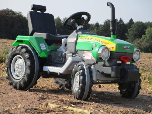 Elektro Traktor mit 2 Motoren Turbo-Speed je 12V Traktor  Top 460276