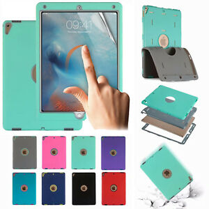 Hybrid-Rubber-Shockproof-Case-Cover-For-iPad-5th-6th-Mini-Air-Pro-12-9-10-5-9-7