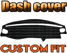 Fits 1998-2000  VOLVO S70  DASH COVER MAT DASHBOARD PAD / BLACK