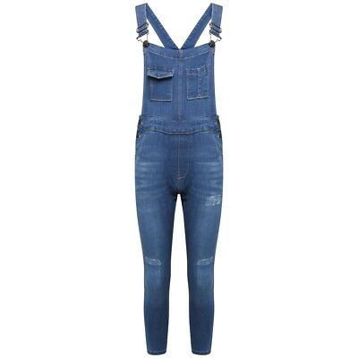PüNktlich New Girls Denim Skinny Jeans Dungaree Pocket Front Stretch Stylish 7 To 13 Years