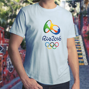 Rio-2016-Olympics-Logo-Brazil-Olympic-Games-Mens-Unisex-Crew-Neck-Tee-T-Shirt
