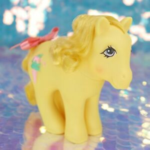 Vintage-My-Little-Pony-Sundae-Best-SWIRLY-WHIRLY-Ice-Cream-Cone-G1-MLP-BF903