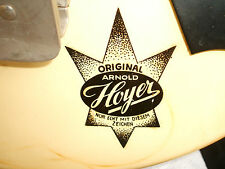 OLD VINTAGE ARNOLD HOYER TRAVEL GUITAR ELEKTRO GITARRE SIXTIES COLLECTOR´S PIECE