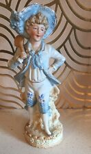 Lovely Continental Antique Bisque Figure