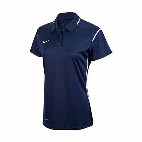 Nike Women/'s Dri-Fit Athletic Polo Shirt N-9 Navy