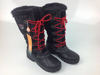 Sporto Women's Connie Waterproof Boot, Black, Size 8 Med.