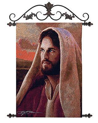Jesus, Prince of Peace Artisan Tapestry Wall Hanging ~ Artist, Greg Olsen