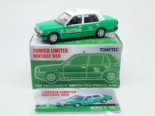 Tomytec Tomica Limited Vintage NEO Taxi Set of 3 Hong Kong Toyota Collection NEW