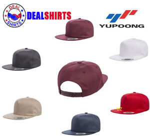 d410f0052 Details about Yupoong Adult Unstructured 5-Panel Snapback Cap-Y6502