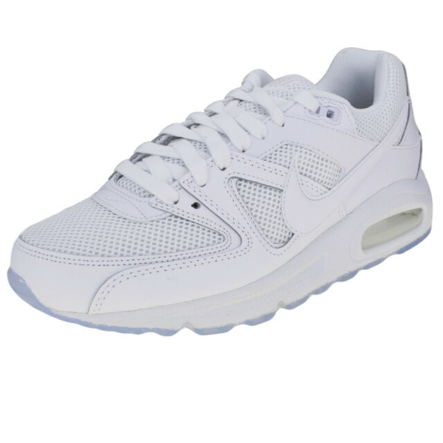 nike air max command bianche pelle