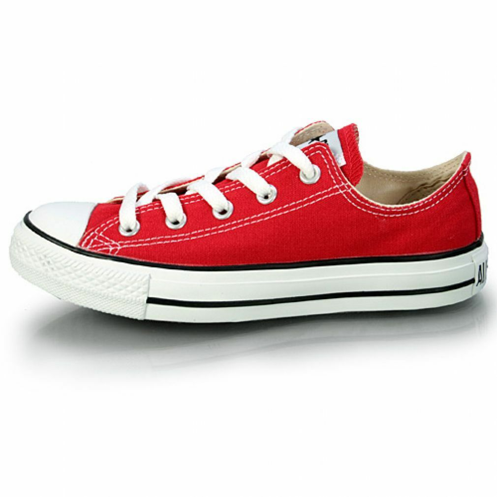 CONVERSE CHUCK TAYLOR ALL STAR OX MEN Red White M9696 Casual Sneakers shoes Sz 4