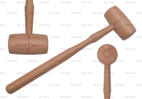 German Style Vintage Hammers Wood Mallet Jewelry Crafts 3 Sizes Wooden Tools