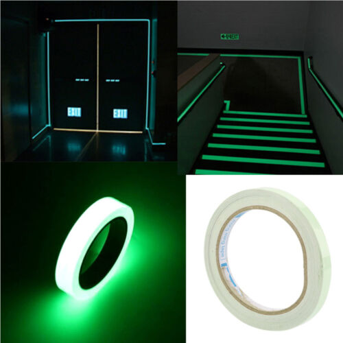Mark Acrylic Safety Warning Tape Glow In Dark Safety Stage Luminous Tape