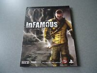 Infamous Paperback Strategy Guide Covers Ps3