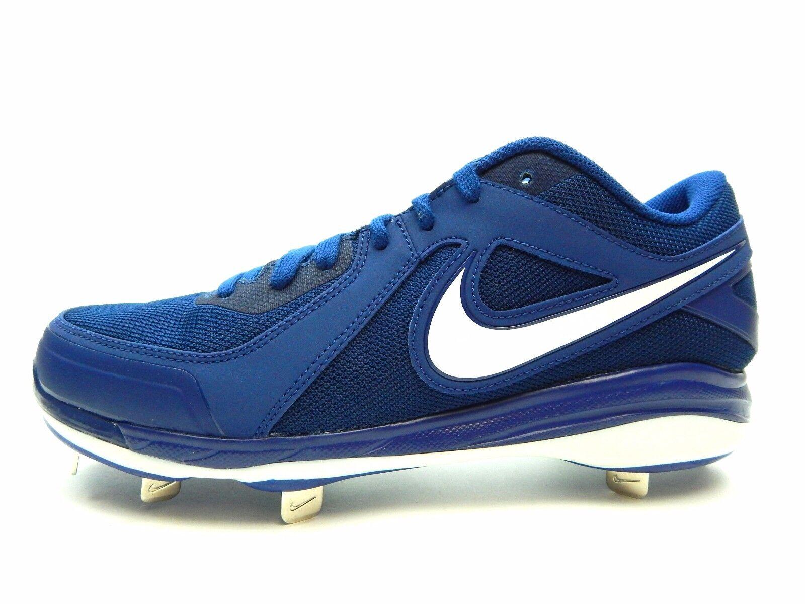 a790d0ba38c ... Nike Air MVP Pro Metal 524641 412 ROYAL ROYAL ROYAL WHITE MEN Baseball  SIZE 10
